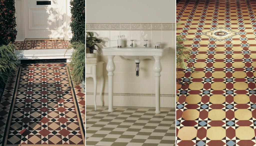 Original style victorian geometric floor tiles - aunt-sue.info