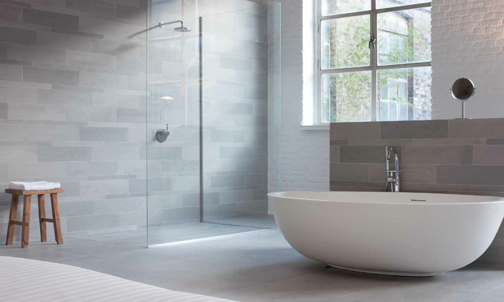 28 Elegant Light Grey Bathroom Tiles | eyagci.com