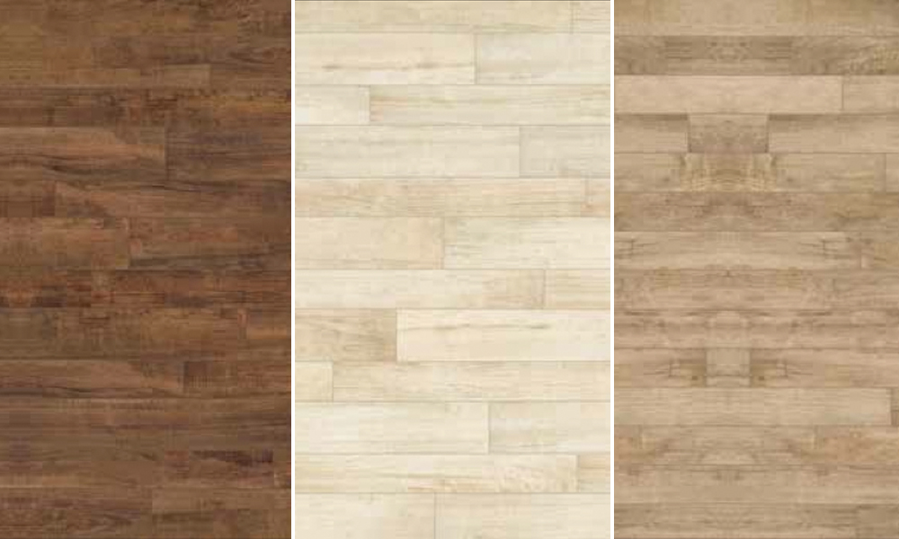 Three authentic wood look tiles - Authentic Wood Look Tiles €� Find It At Rubble Tile In Minneapolis