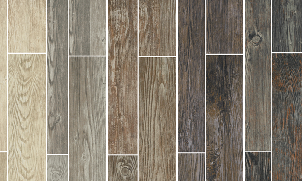 Classic wood look tile palette - Tile That Looks Like Wood €� Wood-look Tile Is Durable, Beautiful