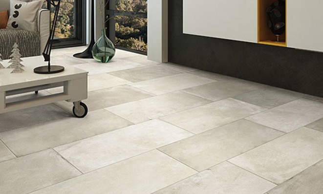 Tiles Looks Porcelain Tile Cement Like Concrete