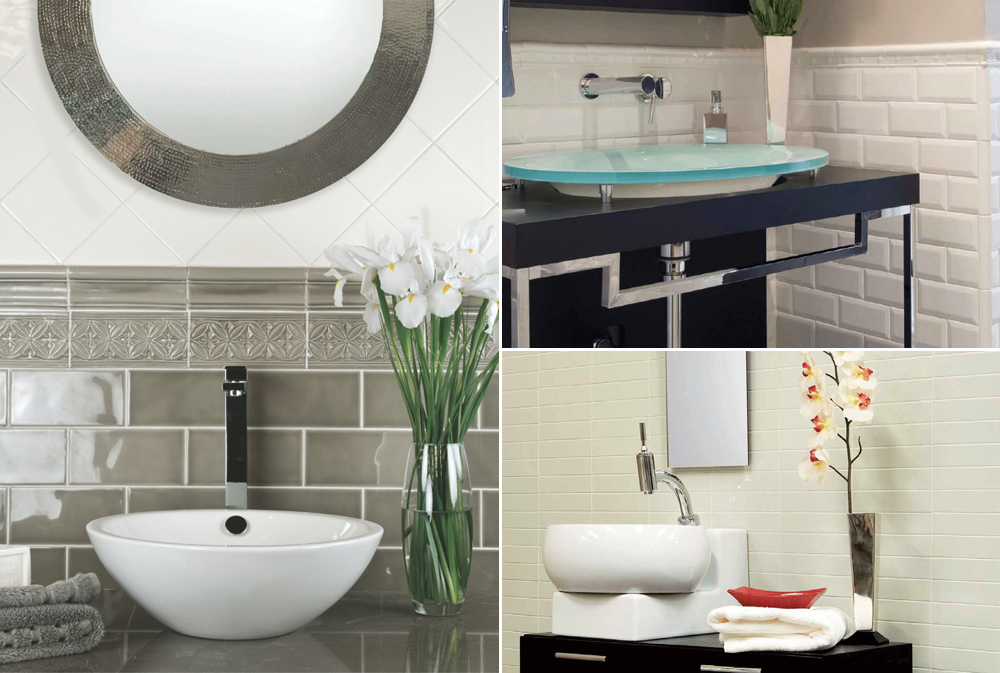 Home And Patio Show Stylish Sinks And Adex Tiles