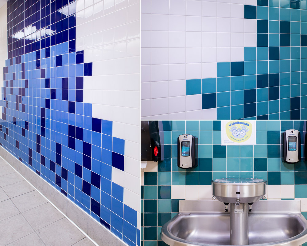 Vibrant Elementary School Tiles – Rubble Tile