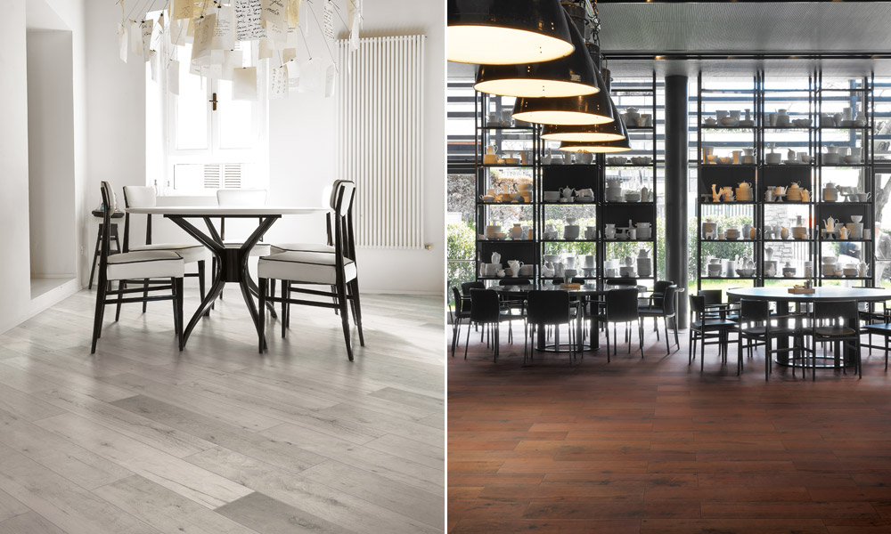 Italian heritage porcelain tiles that look like wood for residential and  commercial applications - Cerim Elite €� Stylish Tiles That Look Like Wood - Rubble Tile