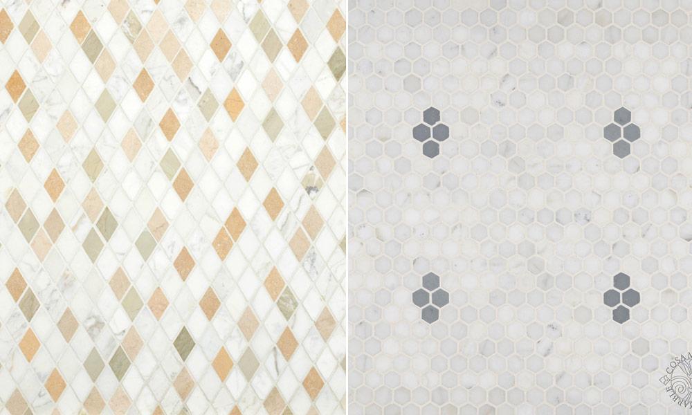 Cosa Marble – Asian Statuary – Classic Mosaic Pattern - Rubble ...