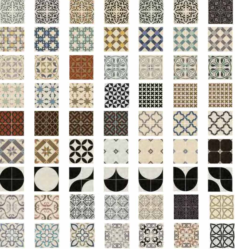 Patterned floor tiles home design ideas and pictures 19 patterned floor tiles dailygadgetfo Image collections