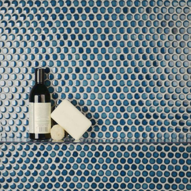 Introducing The Mosaic Collection JapaneseInspired Porcelain - Cheap penny round tile