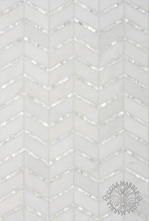 New Marble & Mother of Pearl Mosaics in the Twin Cities – Rubble Tile