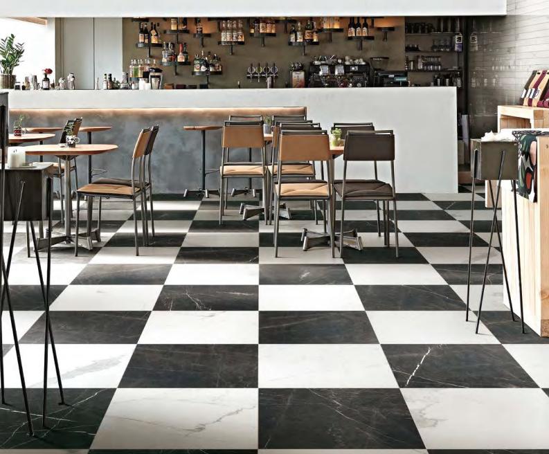 Black-white-checkered-tile-floor