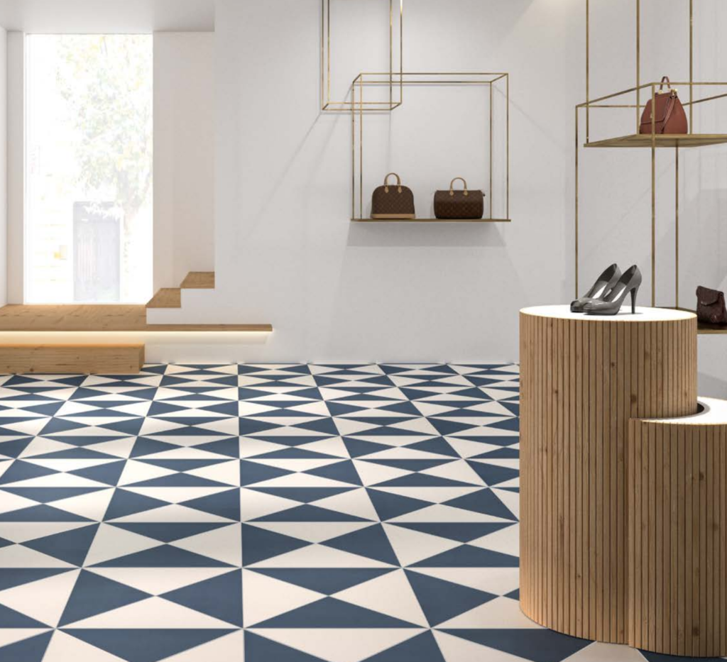 Cool pattern tile