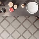 Picket shaped porcelain tile