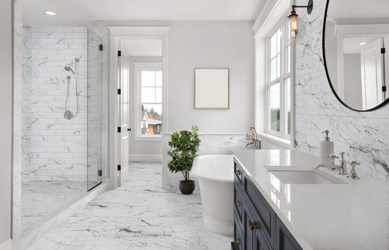 white italian marble minneapolis