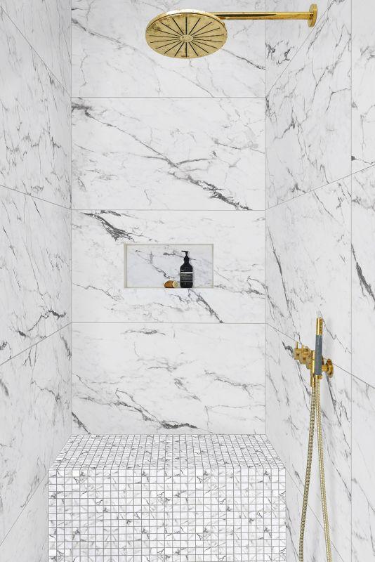 statuary marble for shower