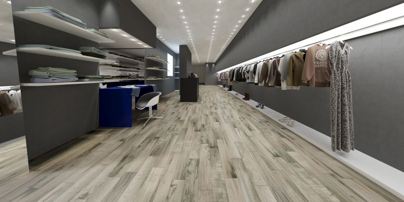 timeworn wood-look porcelain tile