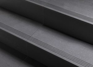 porcelain tile stair treads and copings