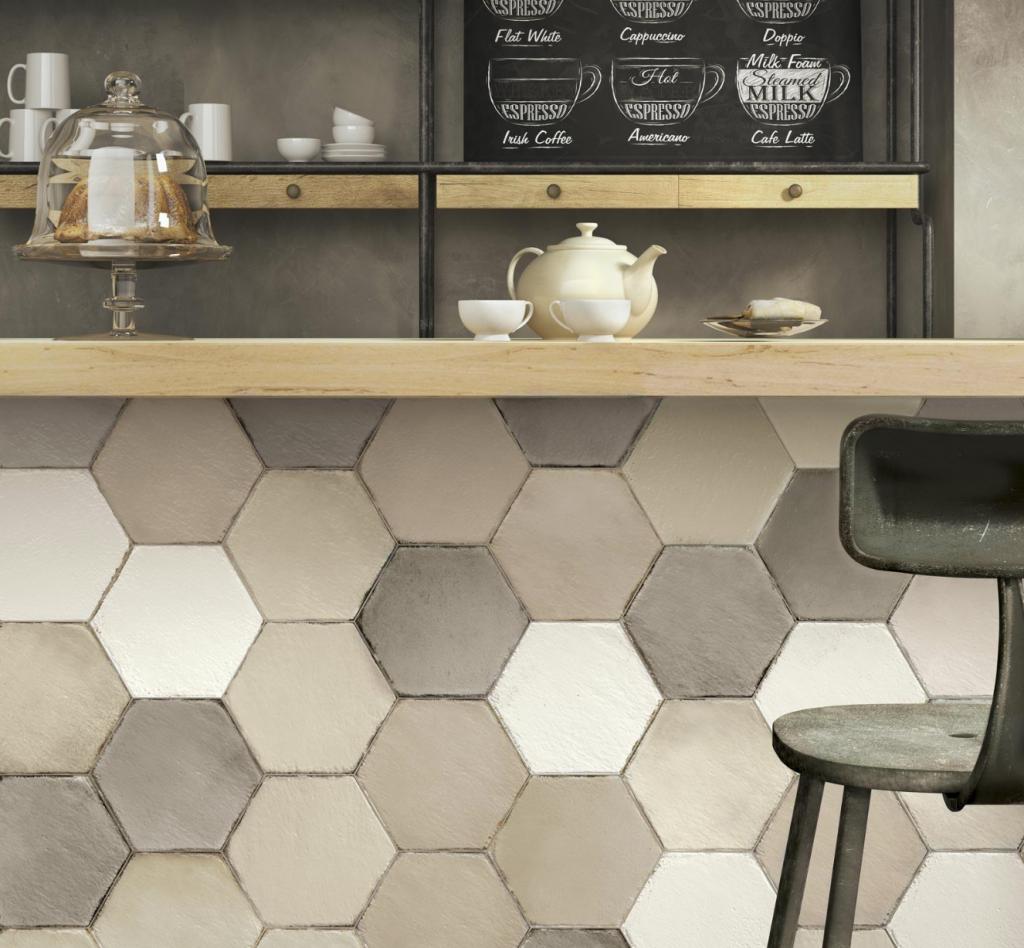 commercial hex tile blends